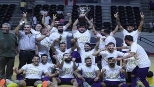 مبارك :  الحرية صيدا أحرز كأس المركز الأول في كرة الصالات اللبنانية وجمع لقبي الدوري والكأس